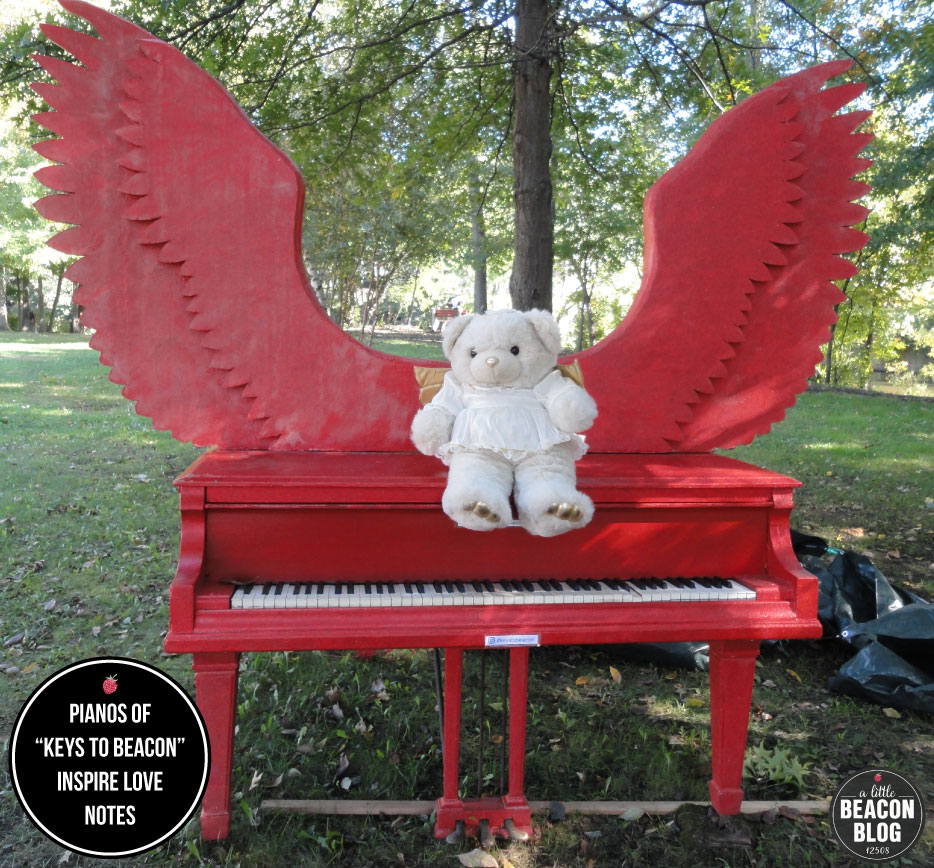 Piano created by the artist  Lori Merhige . Photo Credit: Jeff and Anita Cashman