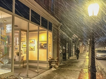 Winter! at riverwinds gallery