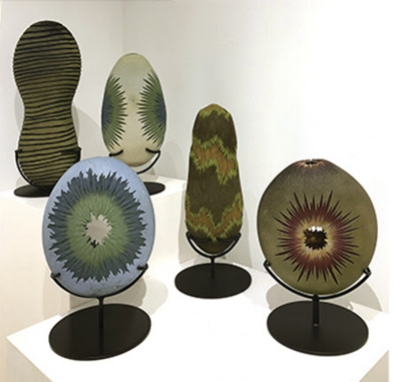 Travel-inspired art glass at Hudson Beach Glass