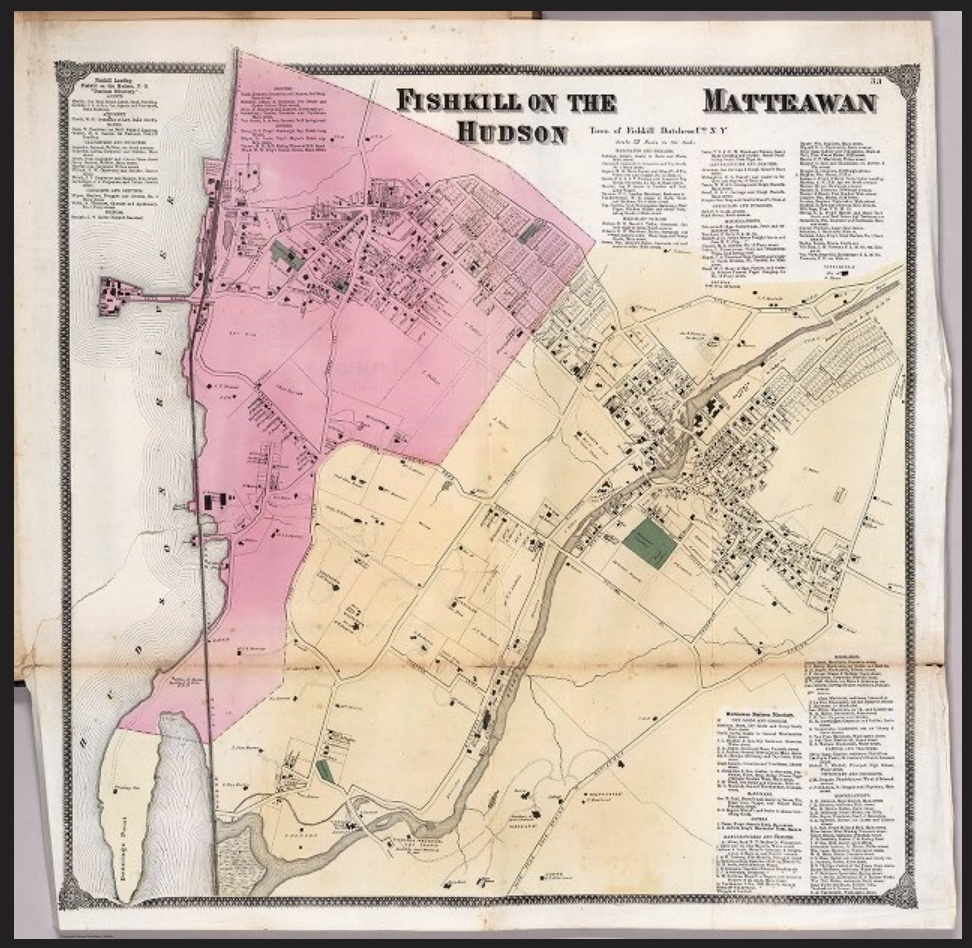 Photo Credit: Screenshot of the 1867 Atlas on    David Rumsey's website    and part of his collection.