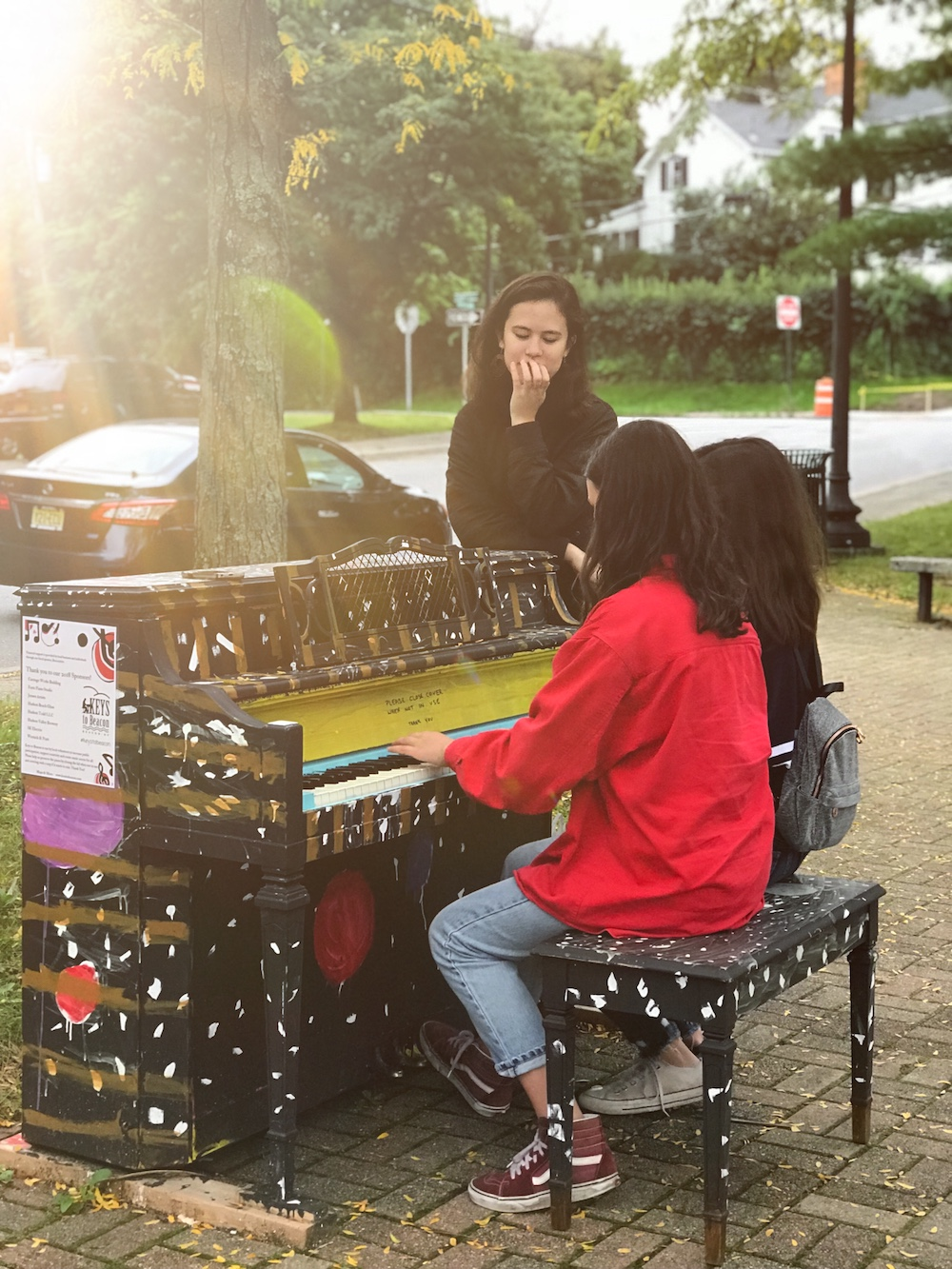 Piano at Bank Square at Polhill Park  Photo Credit: Izdihar Dabashi