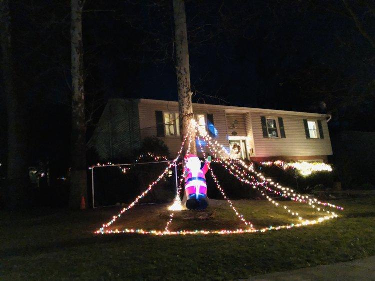 Santa in a web!