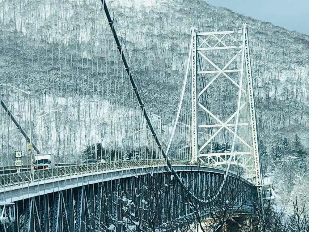 Bear Mountain Bridge on the morning commute from Beacon to New York City. Photo Credit: David Ray Martin