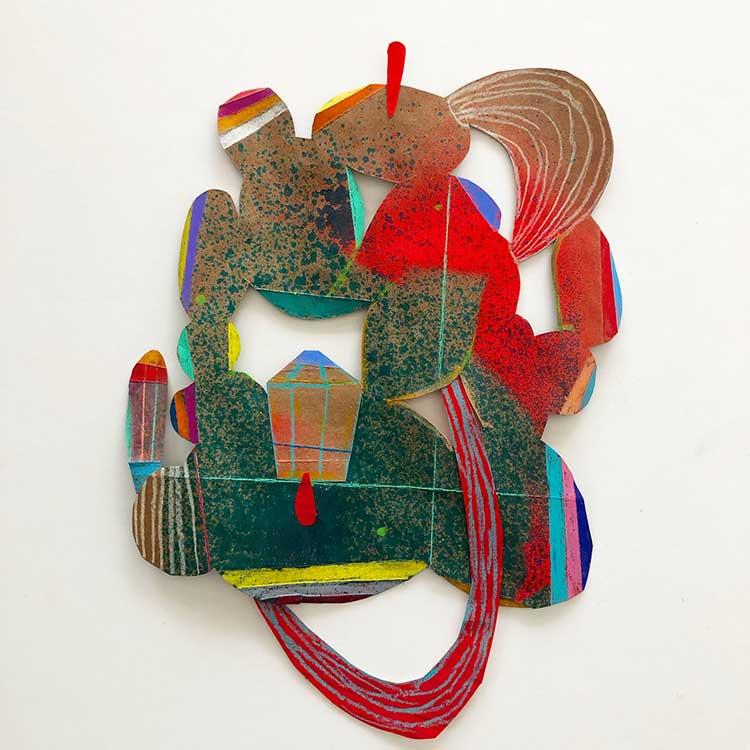 "Beth Humphrey, ""Cave 2,"" at Hudson Beach Glass"