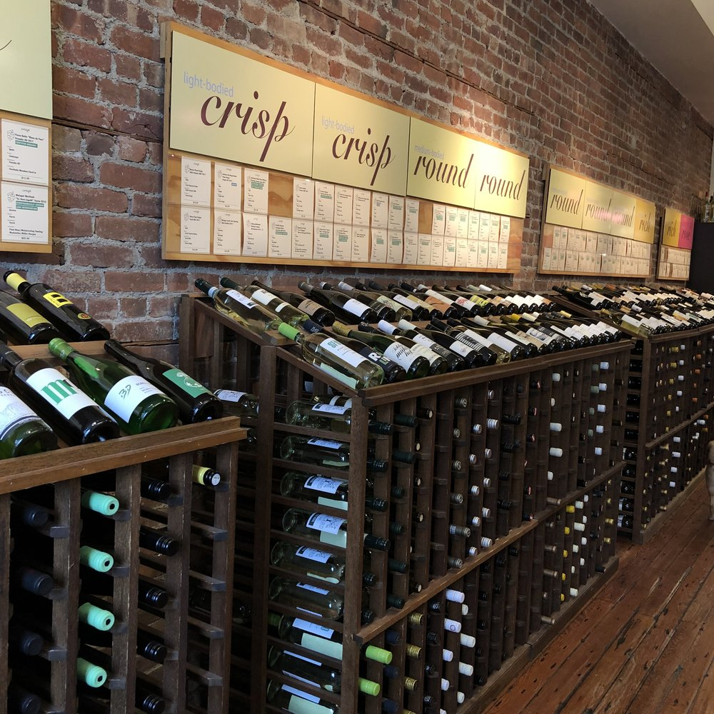Inside of Artisan Wine Shop.  Photo Credit: Katie Hellmuth Martin