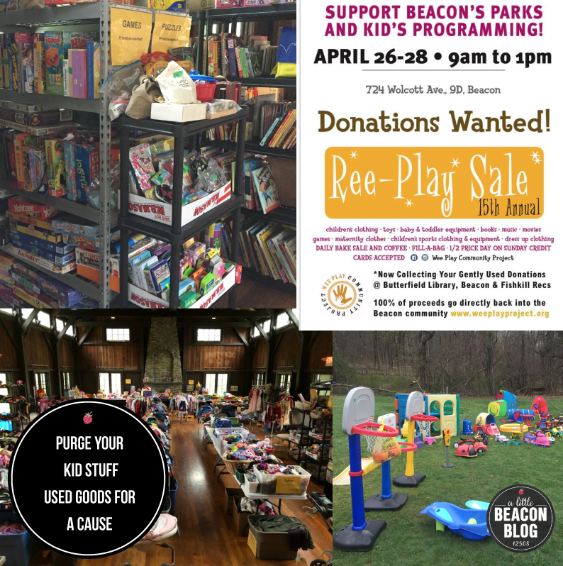 Last Chance To Purge Your Kid Stuff For A Cause: Ree Play