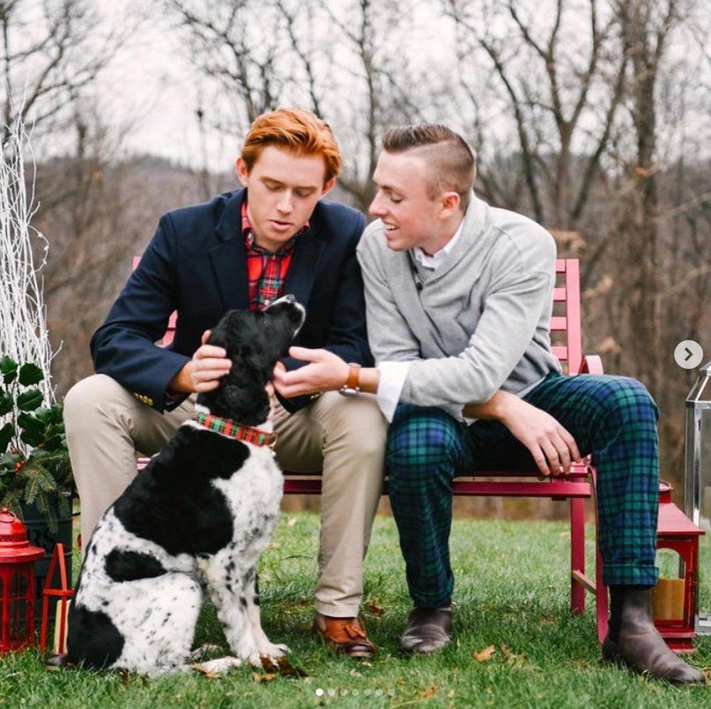 couple bench dog.jpeg