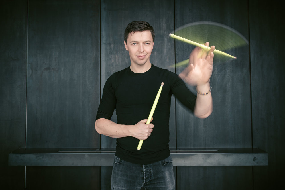 Martin Grubinger - drummer and multi percussionist