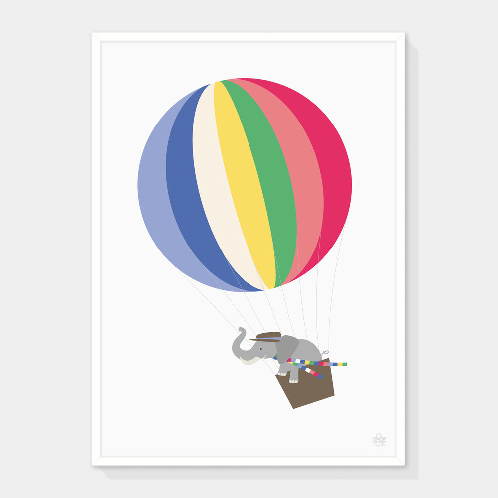 Elephant-&-Balloon-Framed.jpg