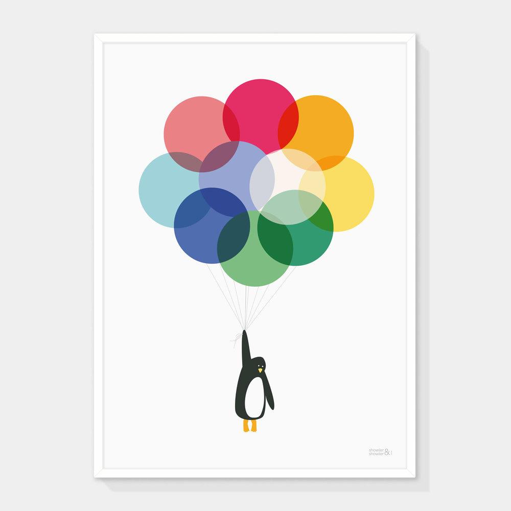 Mr-Penguin-MUTED-TONES-Framed.jpg