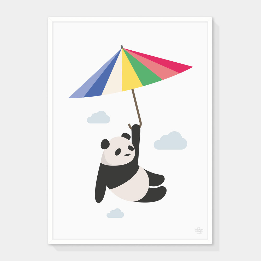 Panda-&-Parasol-Framed.jpg