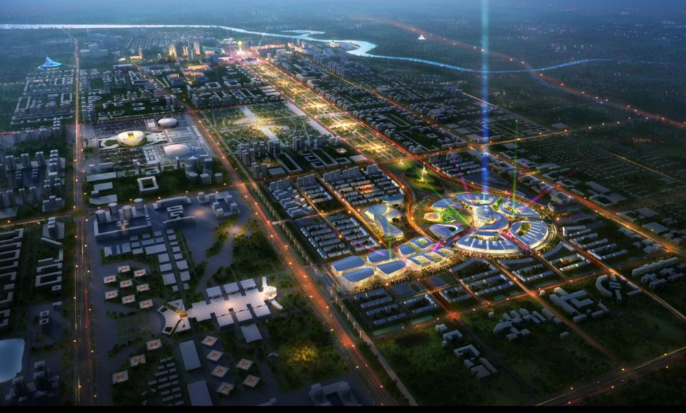 General view Expo Astana 2017
