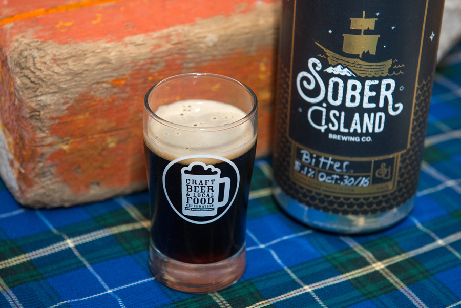 Sober Island Brewing Company  – Oyster Stout