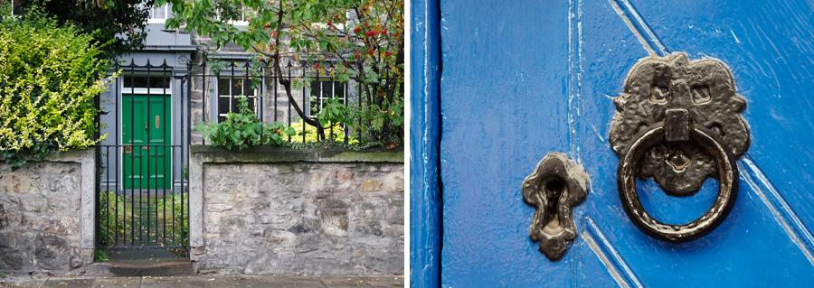 Lovely details along Leith Walk.