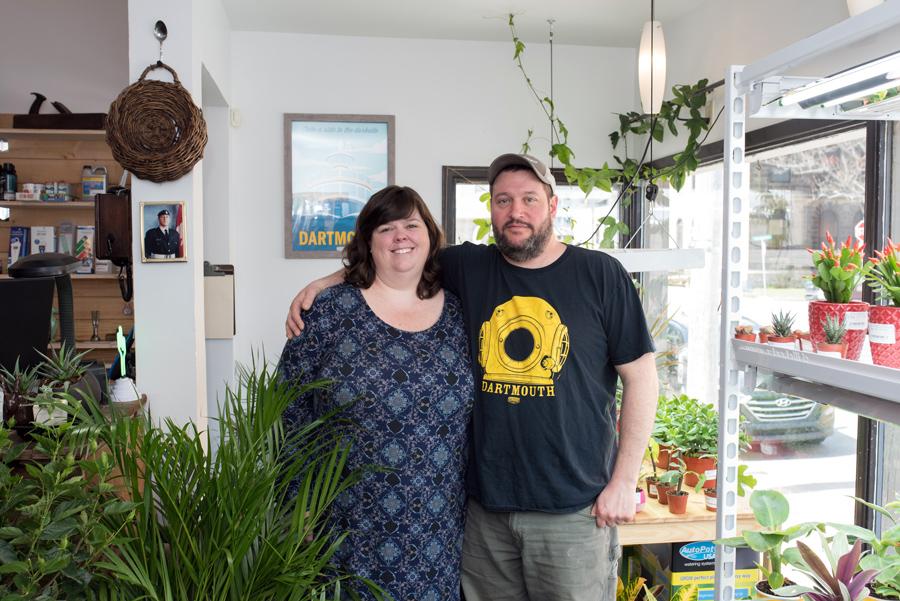 Adrienne Of  Seam Work  and Max of  Urban Garden