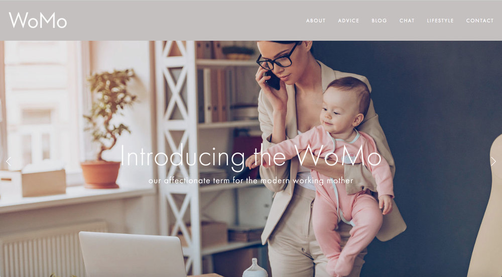 Marketing Branding Website | Annie Abbatt Consulting | WoMo Working Mothers Network