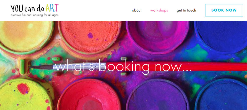 Website Branding Marketing | Annie Abbatt Consulting | You Can Do Art Workshops