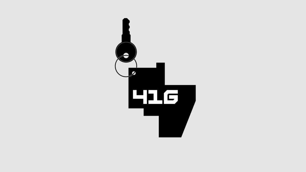 DesignPractice™ / JAM / 416 / Keychain / 2016
