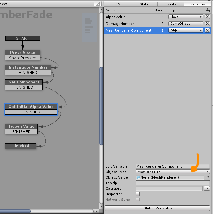 Creating a Mesh Renderer variable