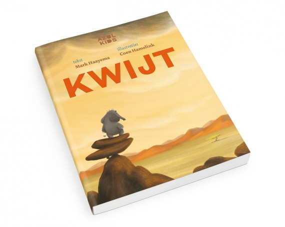 Kwijt | Kinderboek | Mark Haayema | Coen Hamelink | Azul Kids | IFAW