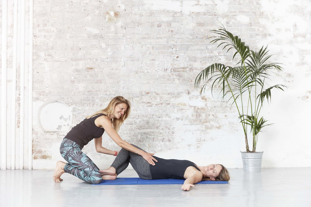 One on one pilates instruction from Pilates by Helena