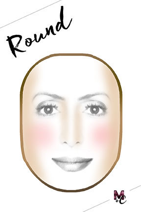 how-to-contour-round-face