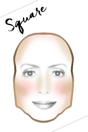 how-to-contour-square-face