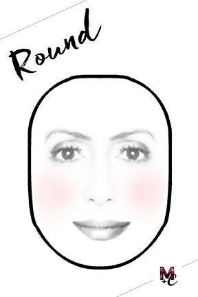 round-shape-face