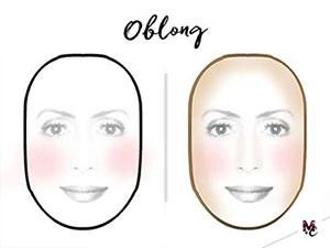 Face Type (shape): Oblong