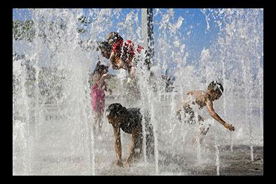 Kids playing Old San Juan