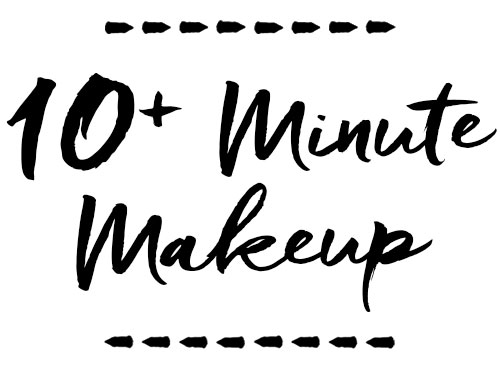 10+ MINUTES SMART MAKEUP ROUTINE   You can look flawless fast! This makeup routine is intentional and smartly applied, creating an amazing and more energetic yet natural look(s) with just a few more products than the Quick Makeup Routine.