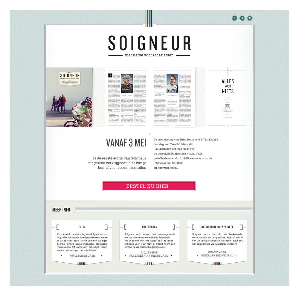Tool to order Soigneur magazine