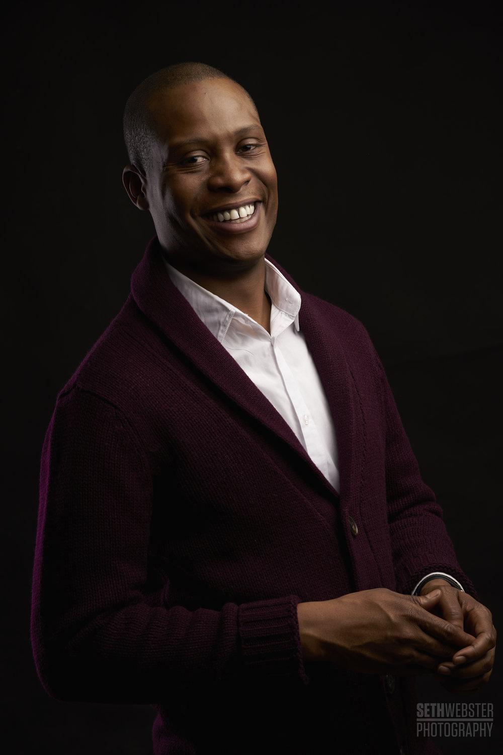 Darnell Jefferson, Newscaster, Portrait