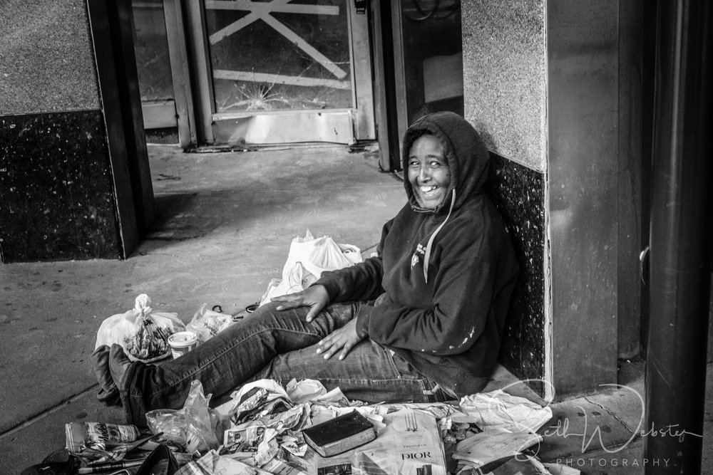 A great smile, 58th and 8th ave, New York