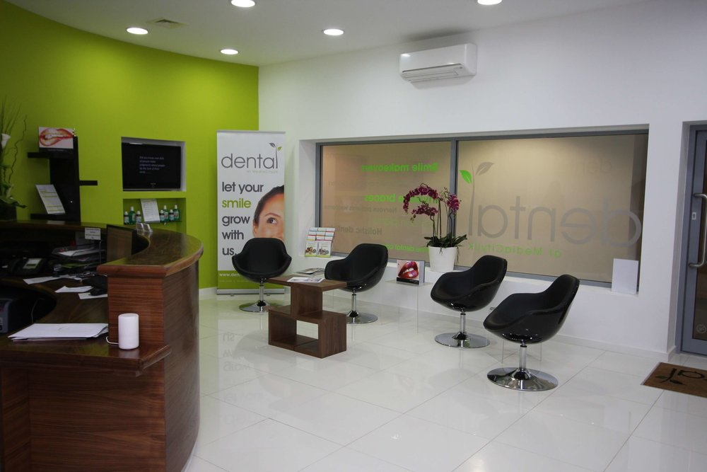 Dental at MediaCityUK patient reception area