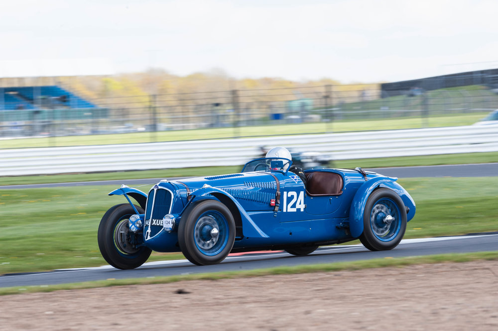 Smith in the Delahaye 135S:  Peter McFadyen