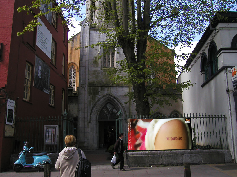 RE:PUBLIC,  interactive installation for Cork Capital of Culture , Cork Vision Centre, Cork, Ireland, October 2005