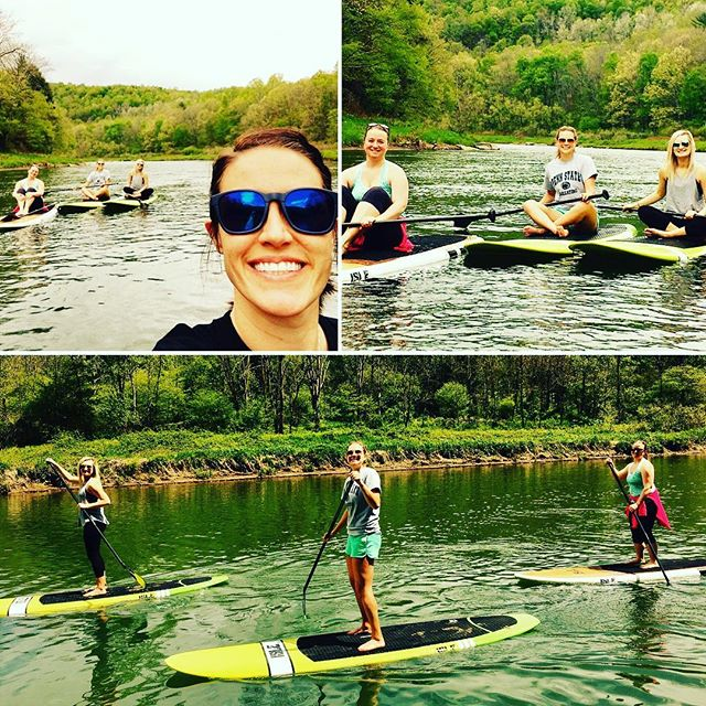 #mintcrew #workbreak #supyoga #paddleboarding I love these girls!! #workadventures