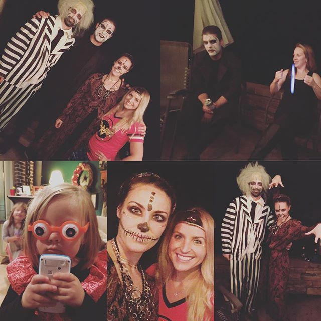 Halloween shananagans! #earlynight #halloweenforoldpeople #goodfriends #halloween #stingthewrestler #beetlejuice