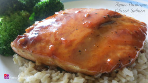 Agave Barbecue Glazed Salmon