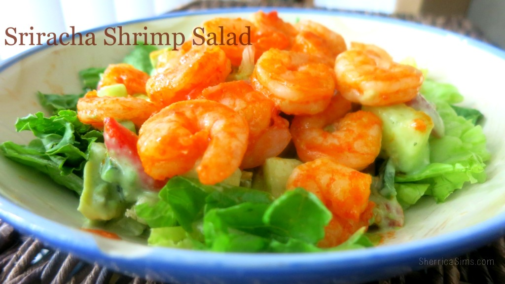 Sriracha Shrimp Salad