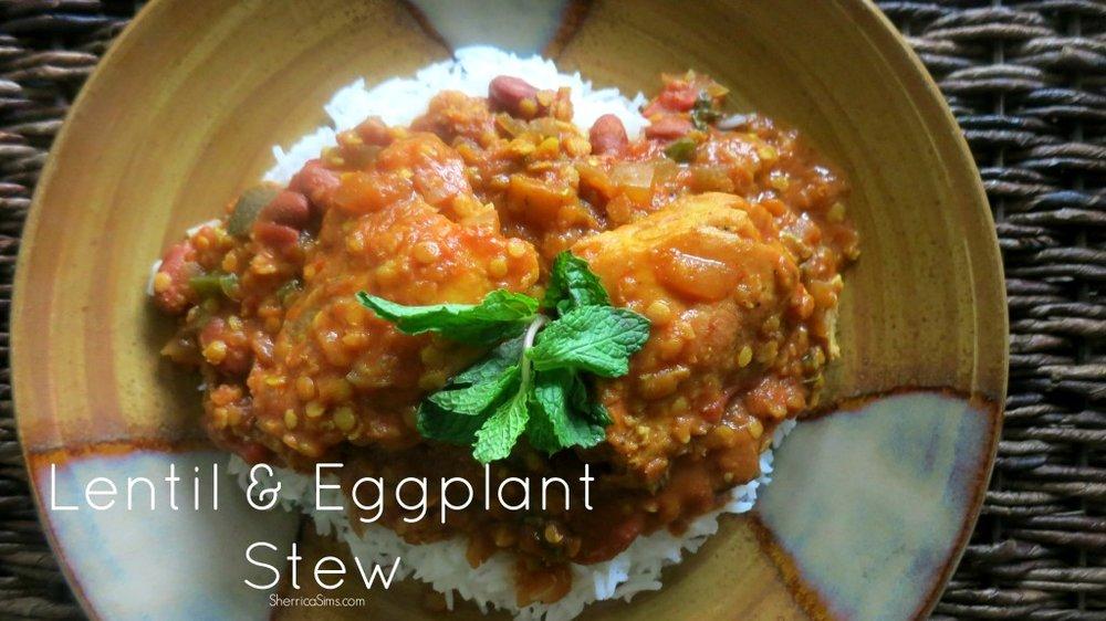 Lentil & Eggplant Stew