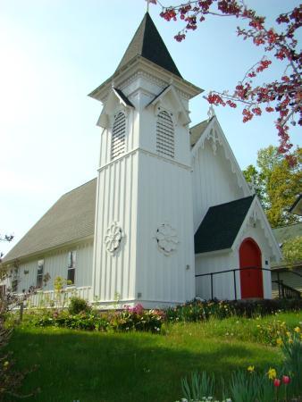 Church in Spring.