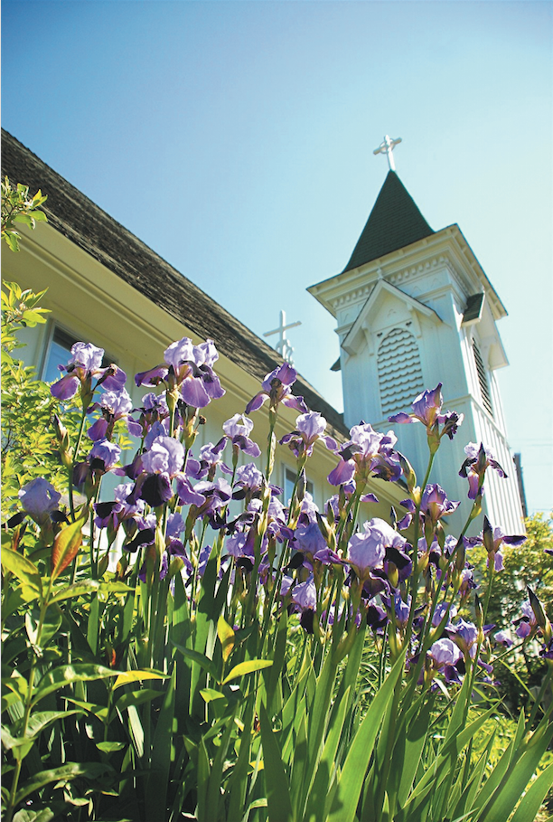 Another View of Church in Spring.