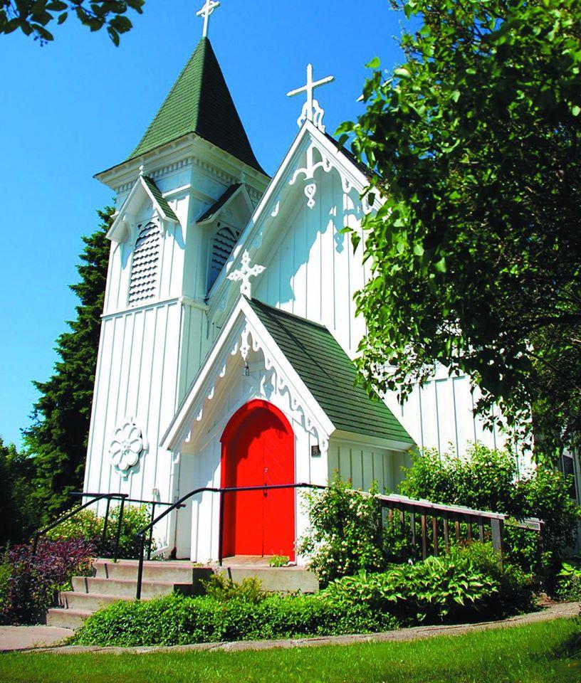 Christ Episcopal Church Exterior.