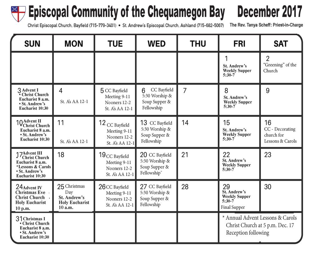 View/Print Calendar