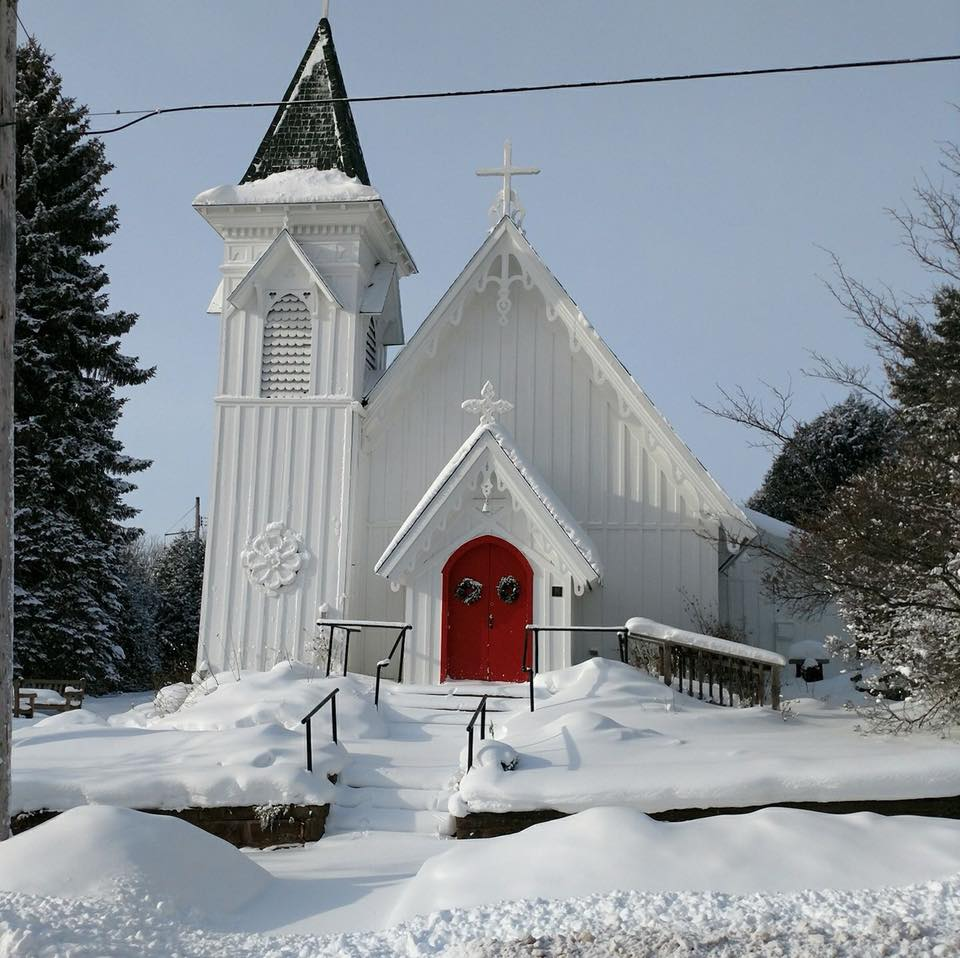 Constructed in 1870, Christ Church of Bayfield is the oldest Episcopal church in Northern Wisconsin.