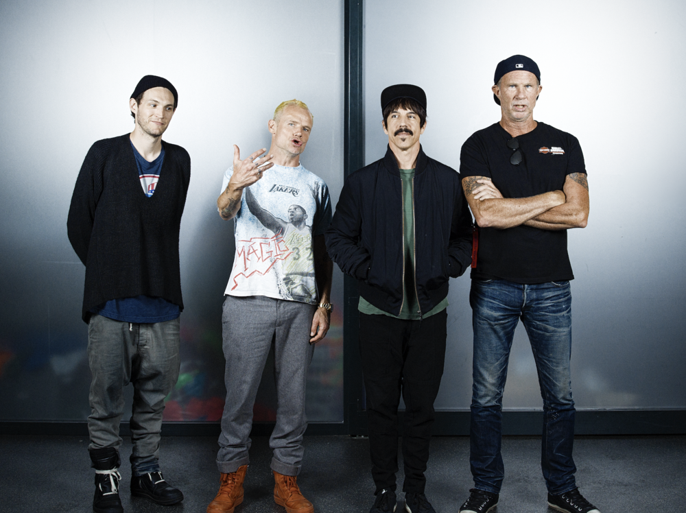 The Red Hot Chili Peppers - Portrait par Julie Christine Krøvel