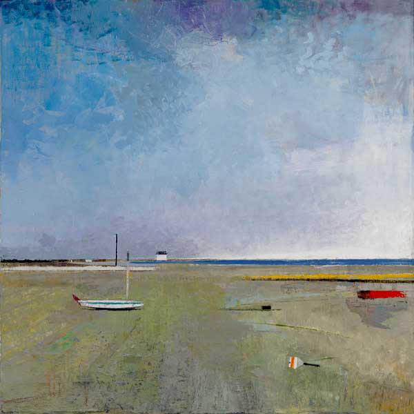 FIELD IN NANTUCKET 42X42