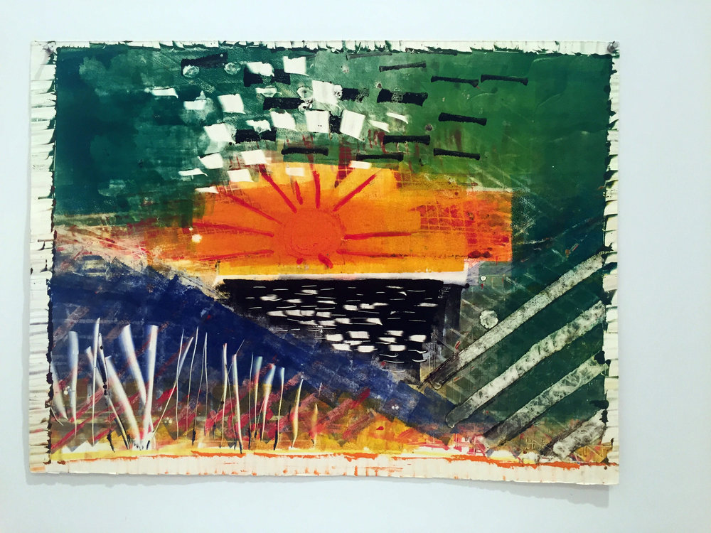 STRONG SUNRISE 22X30